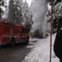 Ski bus catches fire en route to Mount Baker; no injuries